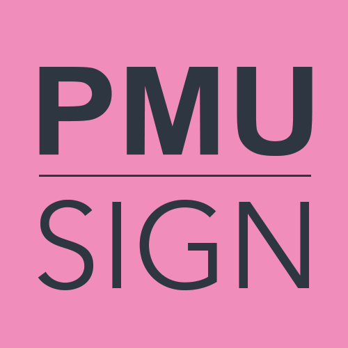 PMU Sign